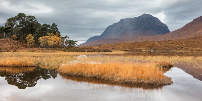 Autumn on Loch Clair