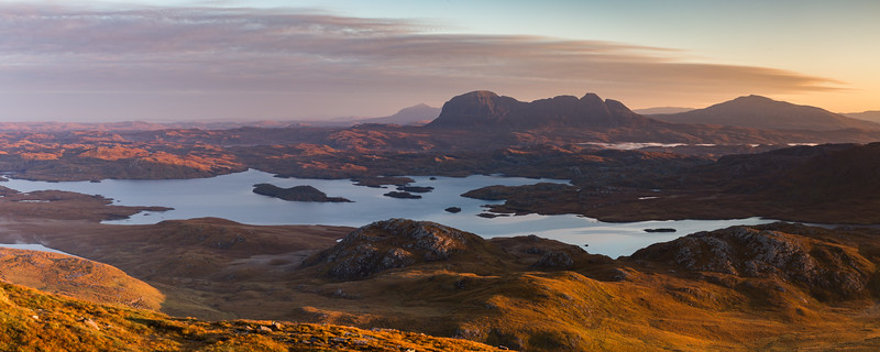 First Light on Autumn Assynt