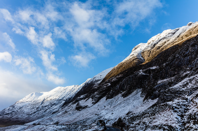 Light on Glen Coe