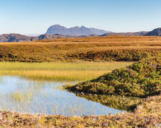 Suilven from Achnahaird Bay Area