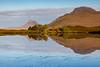 Stac Polaidh and Cul Beag from Loch Cul Dromannan