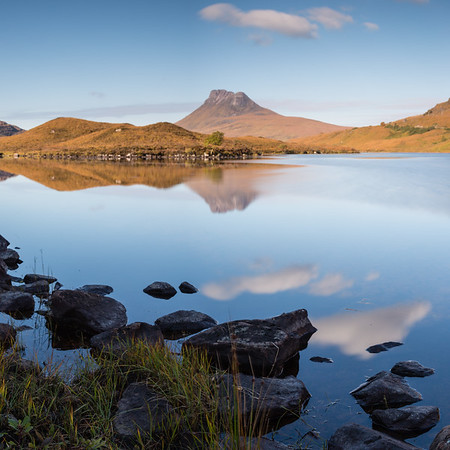 Reflections of Stac Pollaidh