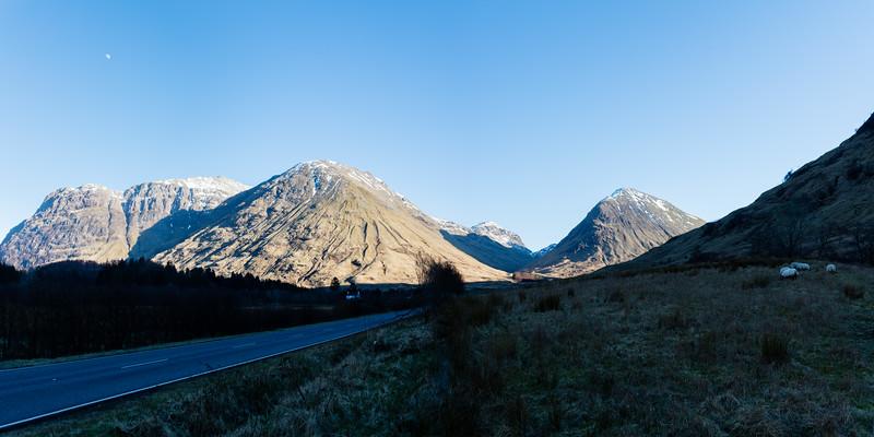 Approaching Glen Coe