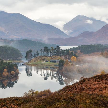 Autumn Mist in the Glen