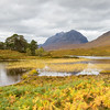 Liathach from Loch Clair