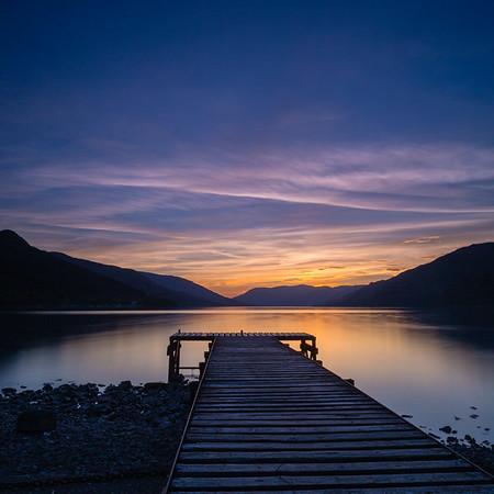 Jetty at Loch Earn