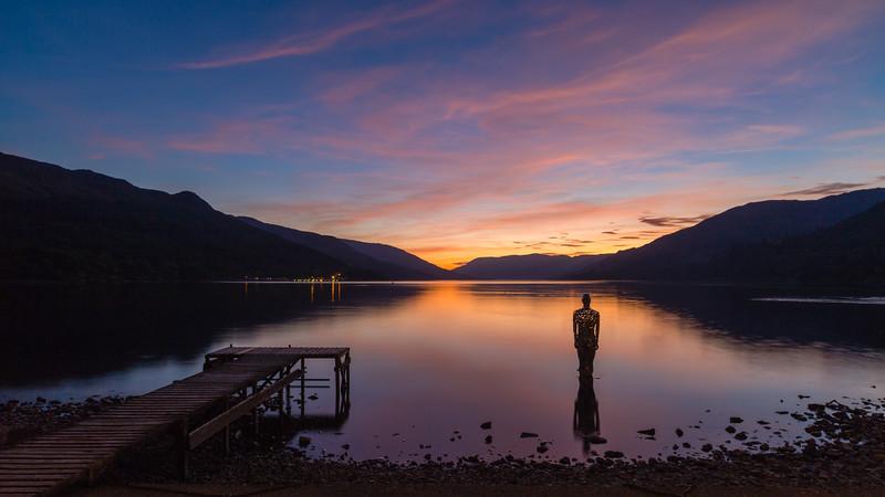 Loch Earn Sundown