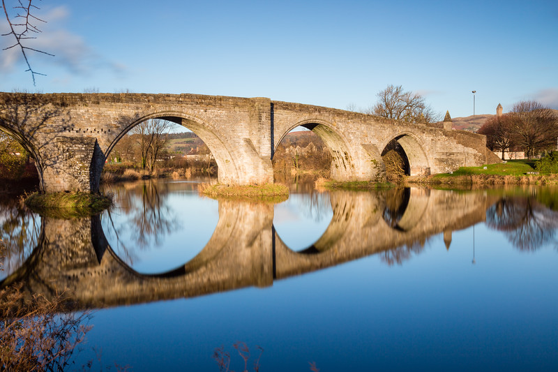 The Auld Brig Reflected