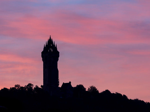 Wallace Monument at Dawn