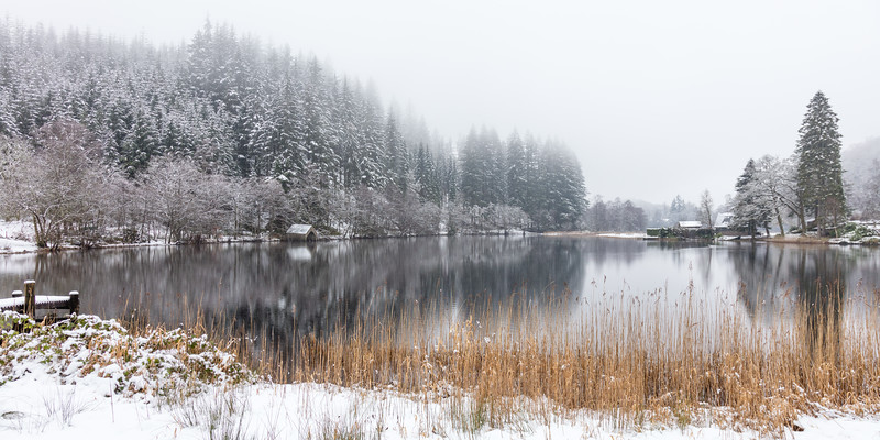 Loch Ard Winter