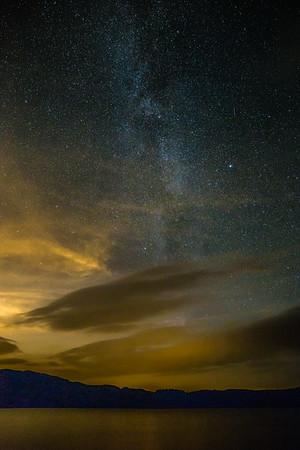 Loch Venachar Milky Way