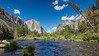 El Capitan and Catedral Rocks from Merced River