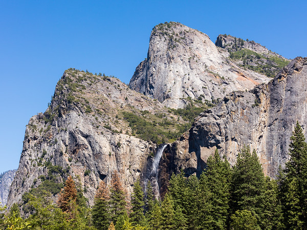 Cathedral Rocks East and Bridalveil Fall 2