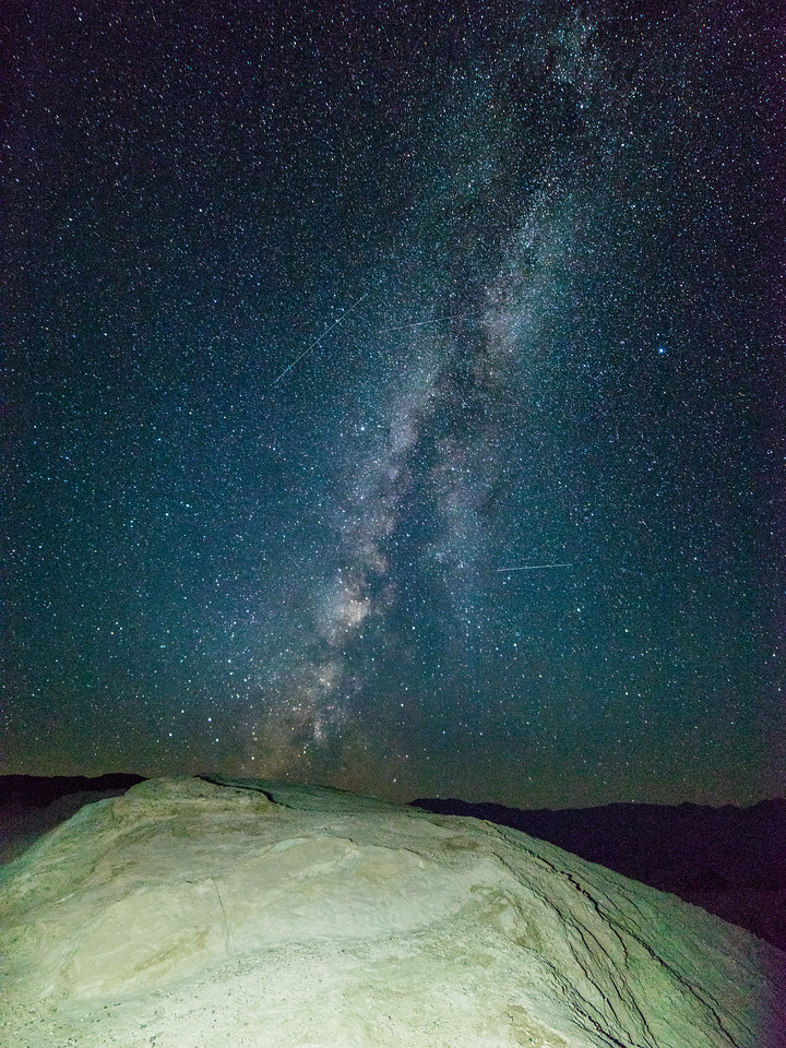 Death Valley Shooting Stars