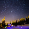 Orion's Belt in the Alps