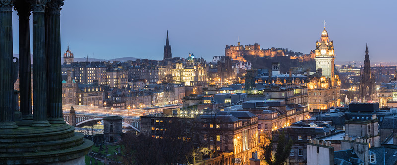 Edinburgh from Calton Hill 2