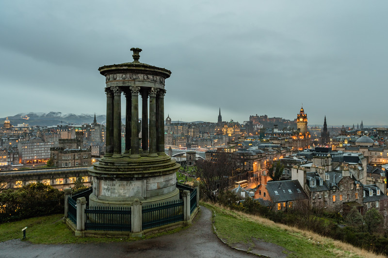 Edinburgh from Calton Hill 4