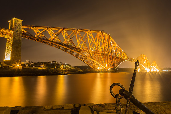 Forth Bridge and Anchor