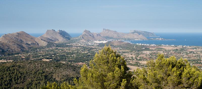 Puig de Maria View