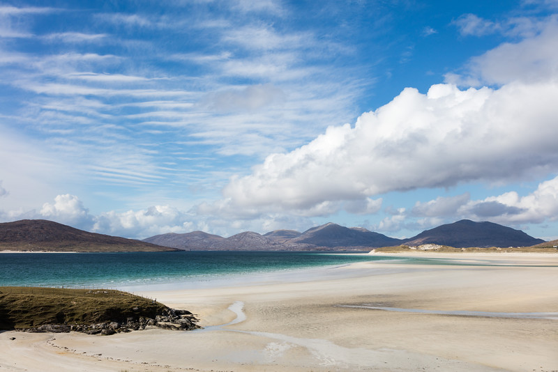 Seilebost and Luskentyre Sands