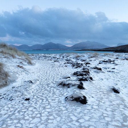 Winter Sunrise at Luskentyre