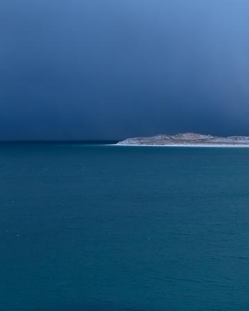 Luskentyre Snow Beach