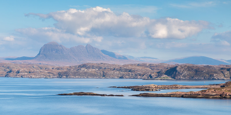 Suilven from Achnahaird Bay 2