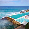 Public swimming pool at Bondi Beach