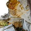 Rock formations at Bondi Beach