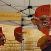 Masks for sale at Sydney's Weekly Market
