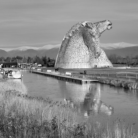 Kelpies and Canal