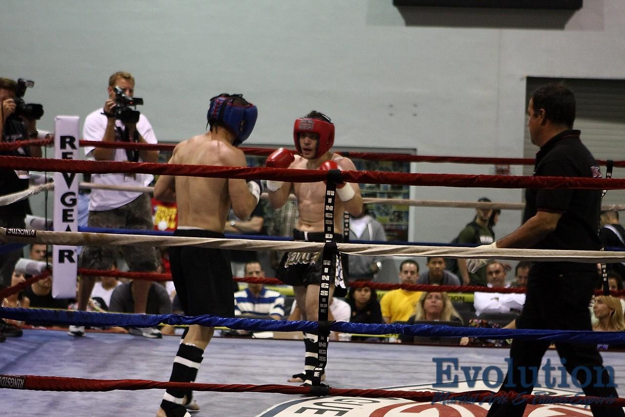 Steven Chin of South Florida Boxing vs. Danny Chavez of FFA