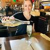 Bartender Emma Sueleska of Chelmsford keeps The Z-List hydrated.