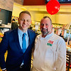 State Rep. James Arciero of Westford and Executive Chef Anthony DePalma