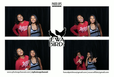 Ewa Bird Show (Stand Up Photo Booth)