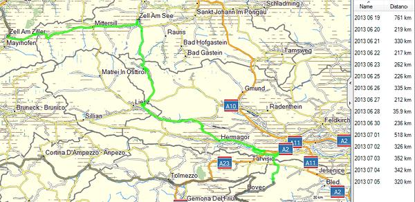 June 21st, 2013 - Zell am Ziller to Trenta