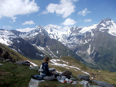 Lunch with a view @ Grossglockner