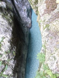 Swimming pool? @ Tolmin gorge