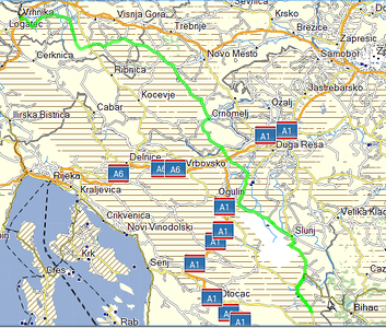 June 23rd, 2013 - Vhrnika to Plitvice