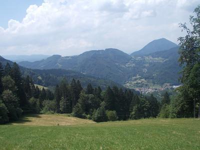 Stop near Ziri, Slovenia