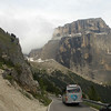 Climbing Passo di Sella, Italy