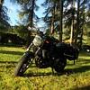 enjoying the sun near Vipiteno, Italy