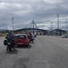 Queing at the Bosnian border