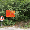 Entering Montenegro
