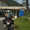 Entering Italy, border crossing no. 12