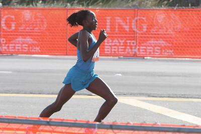 Female Winner, final sprint