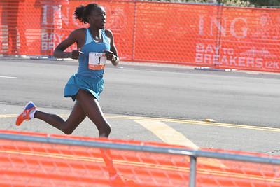 female winner final sprint
