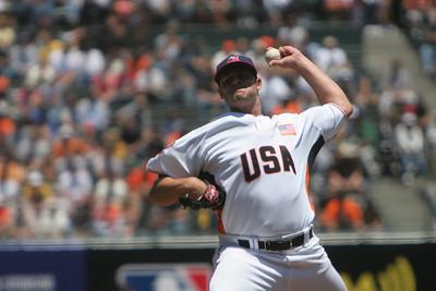 Former Serra High School and current Cleveland Indian, Chuck Lofgren.