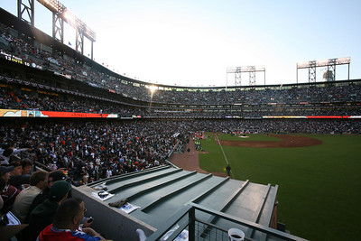 AT&T Park during the Home Run Derby.