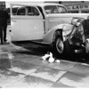 Accident on Ventura Boulevard and Matilija Avenue, 1951